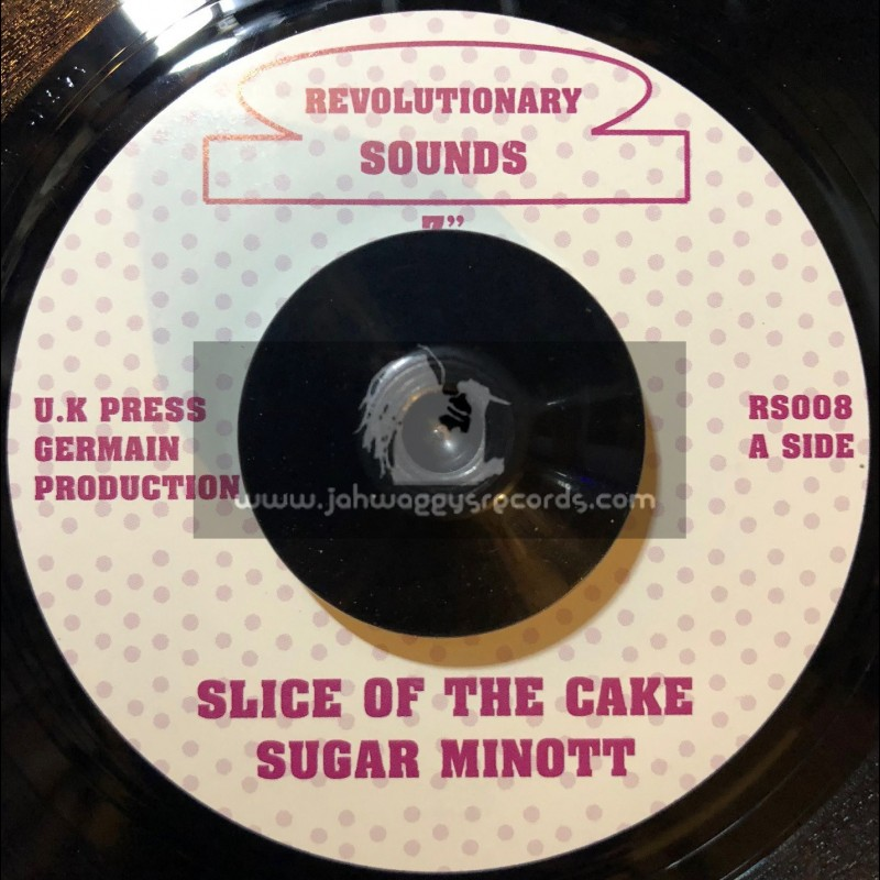"REVOLUTIONARY SOUNDS-7""-SLICE OF THE CAKE / SUGER MINOTT"