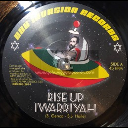 "Dub Invasion Records-7""-Rise Up / I Warriyah - King Alpha"