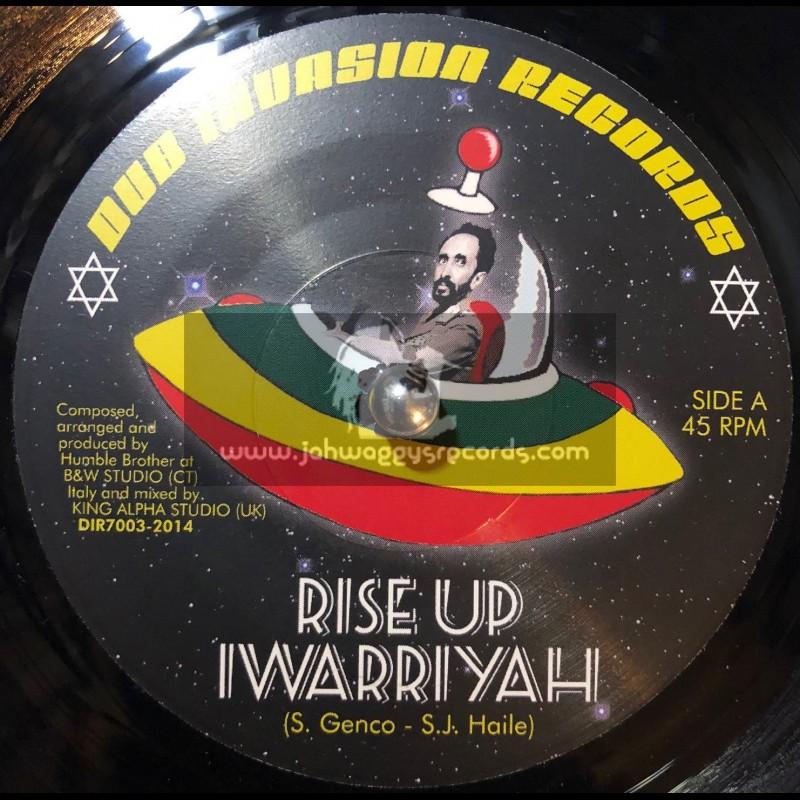 "Dub Invasion Records-7""-Rise Up / I Warriyah - King Alpha"