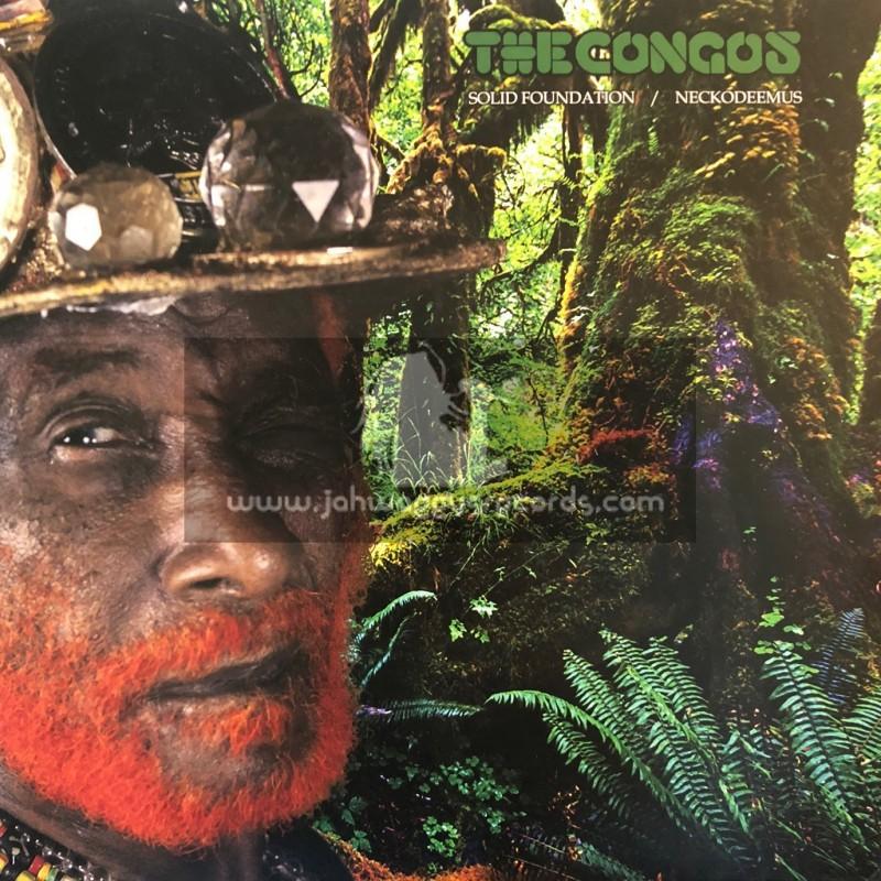 "Upsetters Disco Bum-12""-Solid Foundation / Congos + Neckodeemus / Congos"
