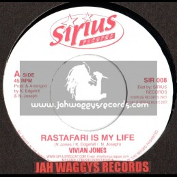 "Sirus records-7""-Rastafari is my life / Vivian jones (2007)"