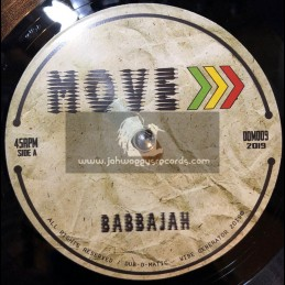 "Dub O Matic-7""-Move / Babbajah + Forward Dub / Michael Exodus Meets Mystical Bamboo"
