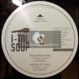 "I-tal Soup Records-12""-Rasta Break Free / Akae Beka"