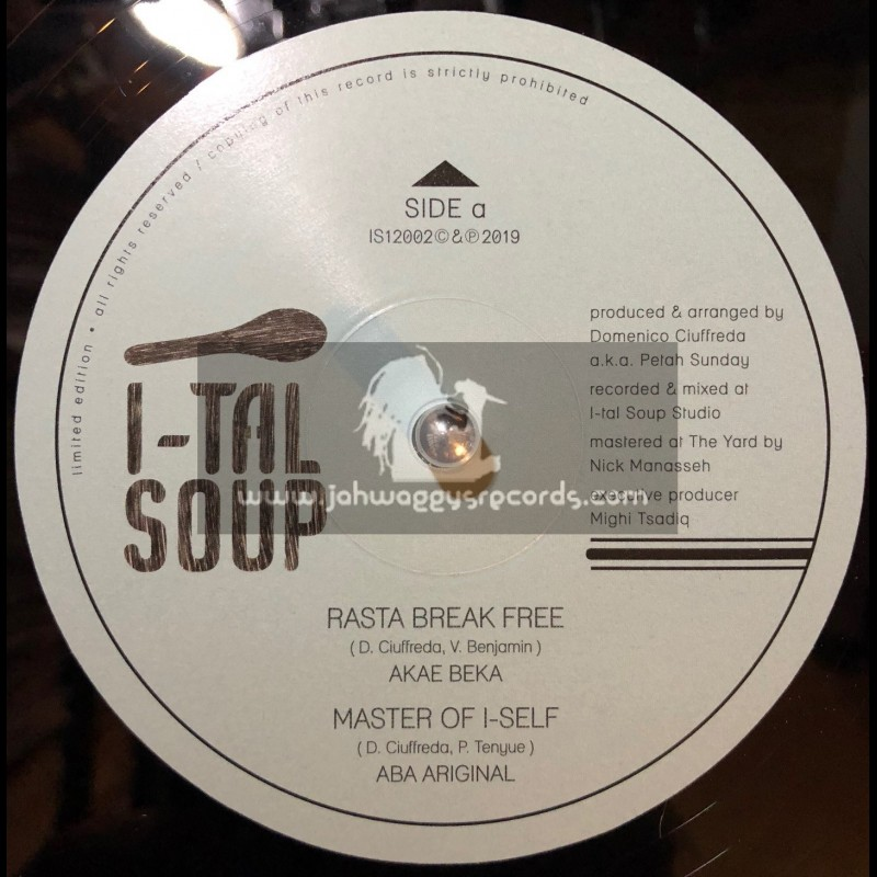 "I-tal Soup Records-12""-Rasta Break Free / Akae Beka"