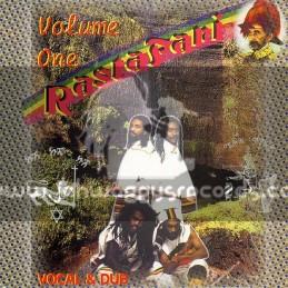 Rastafari vol 1-lp-vocal & dub-feat-dawit meneliktafari-levi judah-hughie izachaar