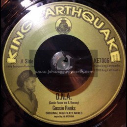 "King Earthquake-7""-D N A / Gussie Ranks"