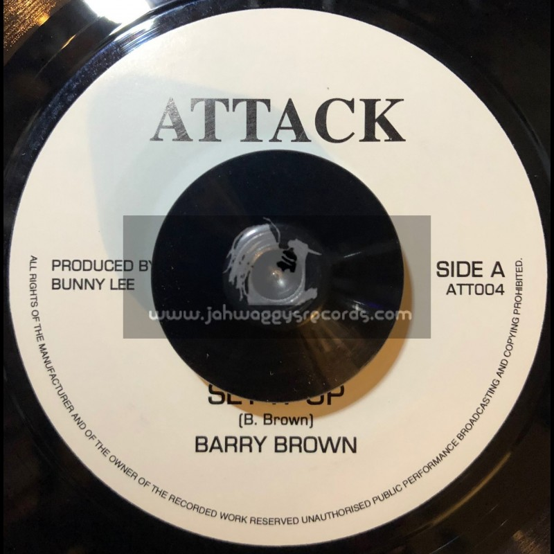 """ATTACK-7""""-STEP IT UP / BARRY BROWN"""