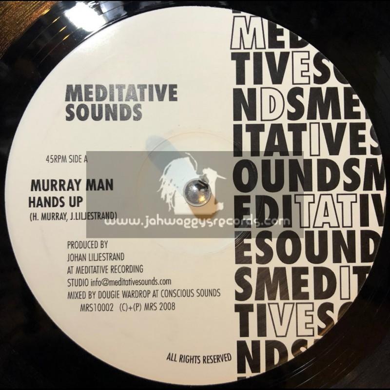 "MEDITATIVE SOUNDS 10""-HANDS UP/MURRYMAN+ROOT OF ALL EVIL/AFRIKAN SIMBA"