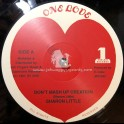 "One Love Records-Jah Fingers-12""-Don't Mash Up Creation / Sharon Little"