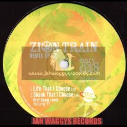 """Zion train-10""""-Remix ep feat,yt, weeding dub,dubdadda, prof skank"""