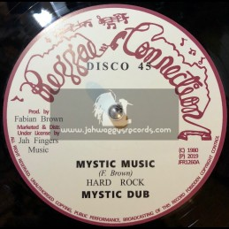 "Reggae Connection-Jah Fingers-12""-Mystic Music / Hard Rock + Jah Send Rain / Hard Rock"