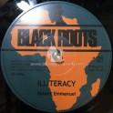 "Black Roots-7""-Illiteracy / Robert Emmanuel + Progress Dub / Black Roots"