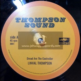 "Iroko Records-12""-Dread Are The Controller / Linval Thompson"
