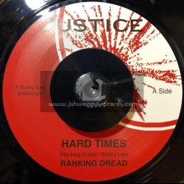 "Justice-7""-Hard Times / Ranking Dread"