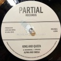 "Partial Records-7""-King and Queen / Alpha and Omega"