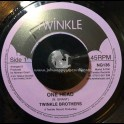 """Twinkle Brothers-7""""-One Head / Twinkle Brothers"""