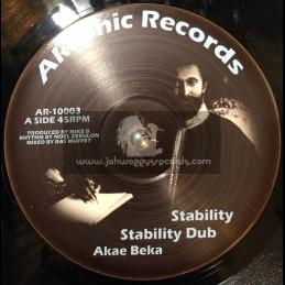 "Akashic Records-10""-Stability / Akae Beke + Walk With Jah / Fikir Amlak"