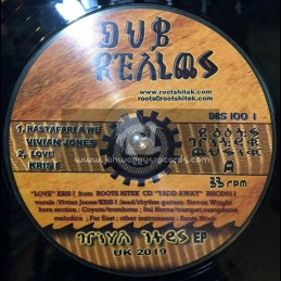 "Dub Realms-12""-Rastafari A We / Vivian Jones"