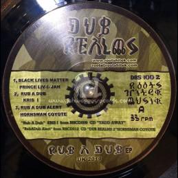 "Dub Realms-12""-Black Lives Matter / Prince Livijah"