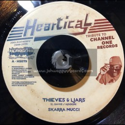 """Heartical-7""""-Thieves & Liars / Skarra Mucci + The Joy Of Life / Rootsmala"""