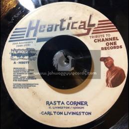 "Heartical-7""-Rasta Corner / Carlton Livingstone + Dub Affair / BDF & Sly Dunbar O.D"