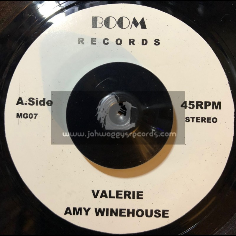 """Boom Records-7""""-Valarie / Amy Winehouse + You Are Wondering Now / Amy Winehouse"""