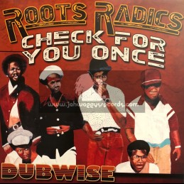 Musical Ambassador-Lp-Check For You Once - Dubwise / The Roots Radics