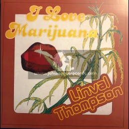 Thompson Sound-Lp-I Love Marijuana / Linval Thompson