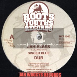 "Roots youths records-12""-Jah bless / Singer blue + Tribesman / Roots youths all stars"