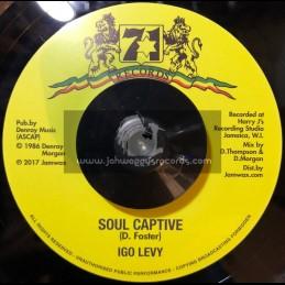 """71 Records-Jamwax-7""""-Soul Captive / Igo Levy"""