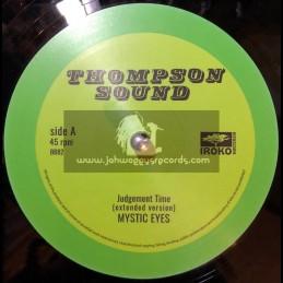 "Thompson Sound-Iroko Records-12""-Judgement Time / Mystic Eyes + Tribal Ina Yard / Freddie McKay"