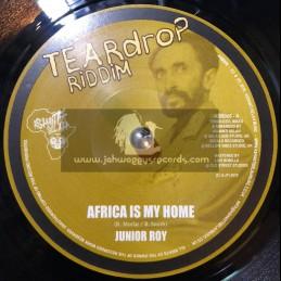 "Ashanti Selah Mucic-7""-Africa Is My Home / Junior Roy + Africa Dub-Tribal Cut / Ashanti Selah"