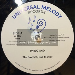 Universal Melody Records-12-The Prophet Bob Marley / Pablo Gad