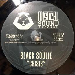 "Mistical Sound Records-7""-Crisis / Black Soulie + Ethno Dub / Panda Dub"