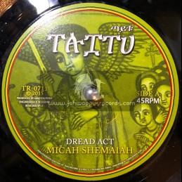 """Taitu-7""""-Dread Act / Micah Shemaiah + Dread Dub / Russ D"""