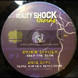 "REALITY SHOCK RECORDS-10""-KEEP THE FAITH/PRINCE LIVIJAH+RASTA MINDED REVOLUTION/AQUA LIVI+ MY YOUTHS/ERROL BELLOT&AFRICAN SIMBA"