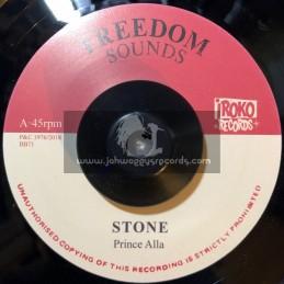 """Iroko Records-7""""-Stone / Prince Alla"""