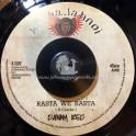 "Ababajahnoi-7""-Rasta We Rasta / Danny Red + Africa To Hollywood Dub / Forward Fever"