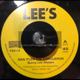 "Lees-Pressure Sounds-7""-Smooth And Sorts / Dave Barker + Ivan Itler The Conqueror / Bunny Lee Allstars"