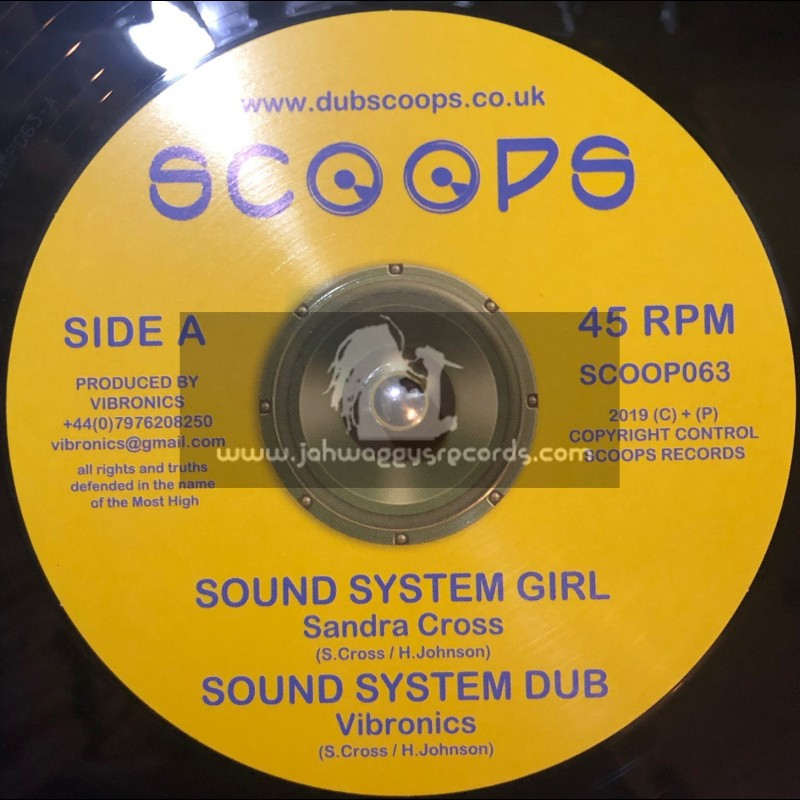 "Scoops-10""-Sound System Girl / Sandra Cross + Fyah Bun / Sandra Cross"