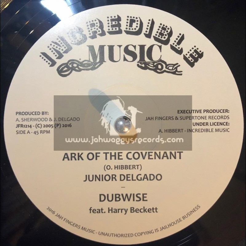 "Incredible Music-12""-Ark Of The Covenant / Junior Delgado + Cry Of The Destitute / Junior Delgado"