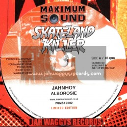 "Maximum sound-12""-Jahnhoy / albarosie + By jah will / luciano (Skateland killer)"