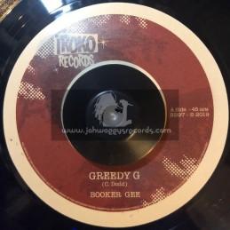 """Iroko Records-7""""-Greedy G / Booker Gee"""