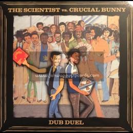 Dubmusic Productions-Lp-Dub Duel / The Scientist Vs. Crucial Bunny