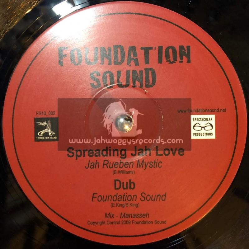 "Foundation Sound-10""-Priceless Gem/Tena Stelin+Meditation/Dak Angel & Spreading Jah Love Reuben Mystic"