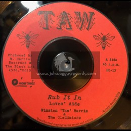"TAW-Hornin Sounds-7""-Rub It In / Loves Aide - Winston Harris And The Gladiators"