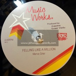 "Iroko Records-12""-Feeling Like A Million / Merva Grier + We Are One / Hopeton Lindo"