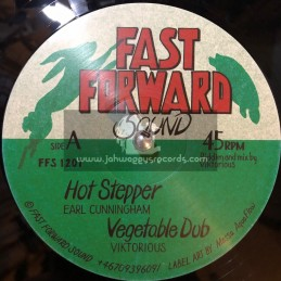 "Fast Forward Sound -12""-Hot Stepper / Earl Cunningham"