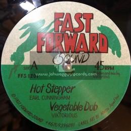 """Fast Forward Sound -12""""-Hot Stepper / Earl Cunningham"""