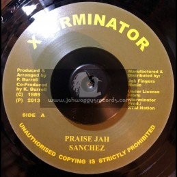 "Test Press-7""-Praise Jah / Sanchez"
